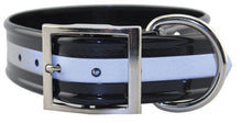 Load image into Gallery viewer, Miller's Point FIELDDOG - DOG - DOG COLLAR Miller's Point, Reflective Stripe Dog Collar, Black