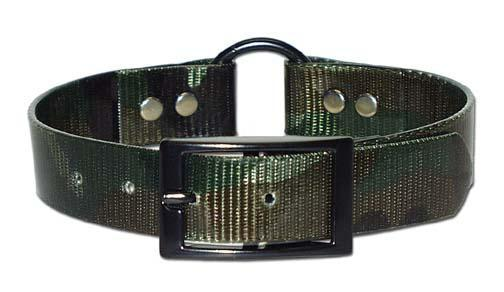 Miller's Provision Co. FIELDDOG - DOG - DOG COLLAR Miller's Provision Co., Camo Sporting Dog Collar with Center Ring