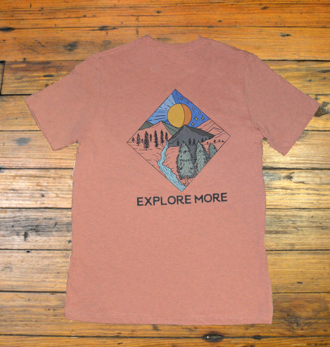 Miller's Provision Co. MEN - SHIRTS - SHORT SLEEVE T-SHIRTS Miller's Provision Co., Explore More Heather Coral