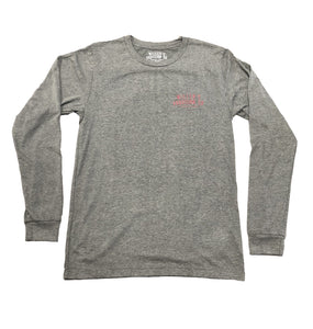 Miller's Provision Co. MEN - SHIRTS - LONG SLEEVE T-SHIRTS Miller's Provision Co., Hog Call Me Long Sleeve T-Shirt, Deep Heather
