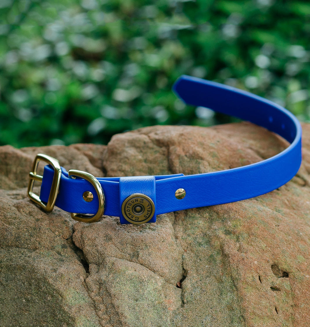 Miller's Provision Co. FIELDDOG - DOG - DOG COLLAR Miller's Provision Co., The Sportsman Dog Collar, Royal Blue