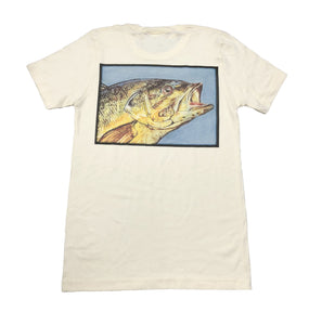 Miller's Provision Co. MEN - SHIRTS - SHORT SLEEVE T-SHIRTS Miller's Provision Co., Trophy Bass T-Shirt, Tan