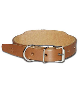 Miller's Provision Co. FIELDDOG - DOG - DOG COLLAR Miller's Provsion Co, Leather Beagle Collars, Chestnut
