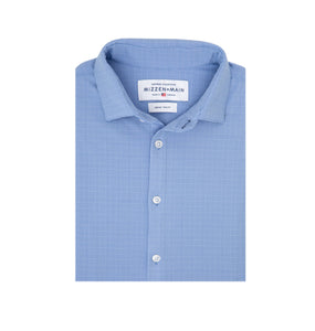 Mizzen & Main MEN - SHIRTS - BUTTON DOWNS Mizzen & Main, Maverick - Trim Fit, Blue Glen Plaid