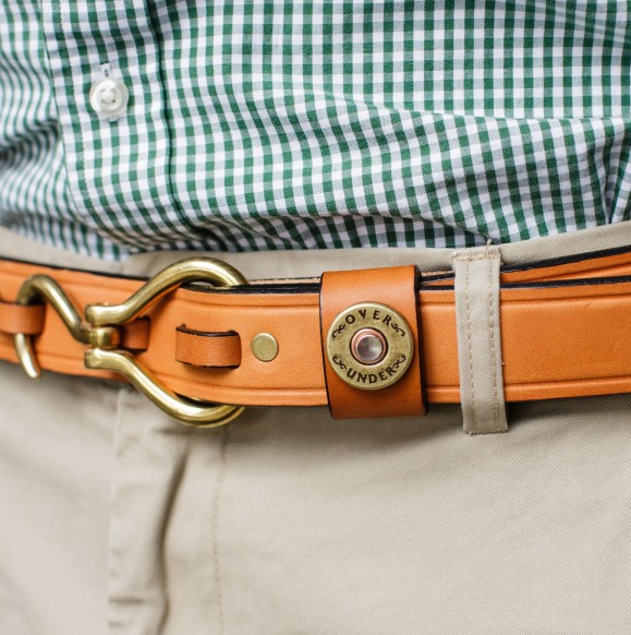 Over Under Clothing ACCESSORIES - BELTS - LEATHER Over Under, Hoof Pick Belt, London  Tan