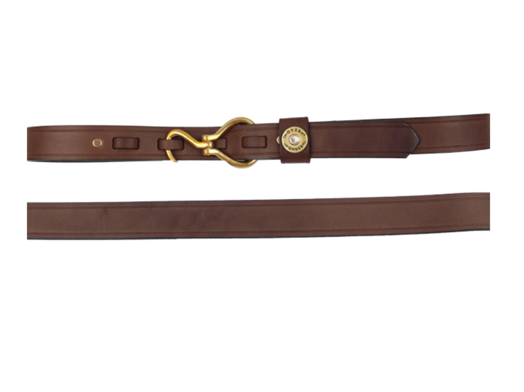 Over Under Clothing ACCESSORIES - BELTS - LEATHER Over Under, Hoof Pick Belt, Medium Brown