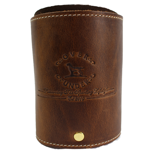 Over Under Clothing ACCESSORIES - KOOZIES - SCENE Over & Under, Leather Can Koozie