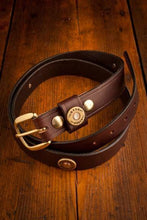 Load image into Gallery viewer, Over Under Clothing ACCESSORIES - BELTS - LEATHER Over & Under, Multi Shot Belt, Brown