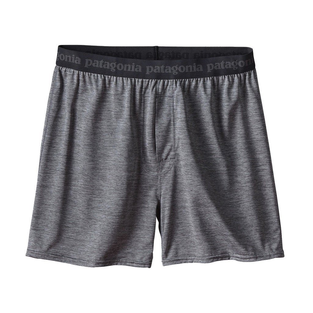 Patagonia MEN - UNDERWEAR - BOXERS Patagonia, Men's Capilene Daily Boxers, Feather Grey