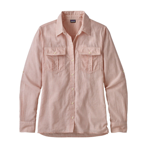 Patagonia WOMEN - SHIRTS - BLOUSES Patagonia, Women's Lightweight A/C Buttondown Shirt, Sprinkle: Quartz Coral
