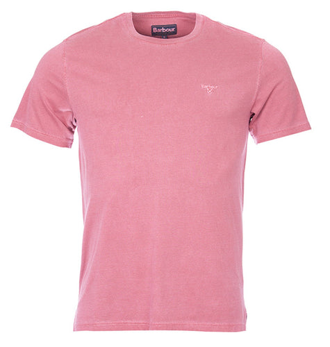 Barbour, Garment Dyed Tee, Biking Red