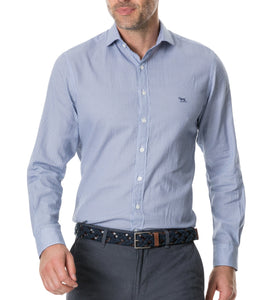 Rodd & Gunn MEN - SHIRTS - BUTTON DOWNS Rodd & Gunn, Castor Bay Sports Fit Shirt, Azure