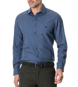 Rodd & Gunn MEN - SHIRTS - BUTTON DOWNS Rodd & Gunn, Ellis Park Sports Fit Shirt, River