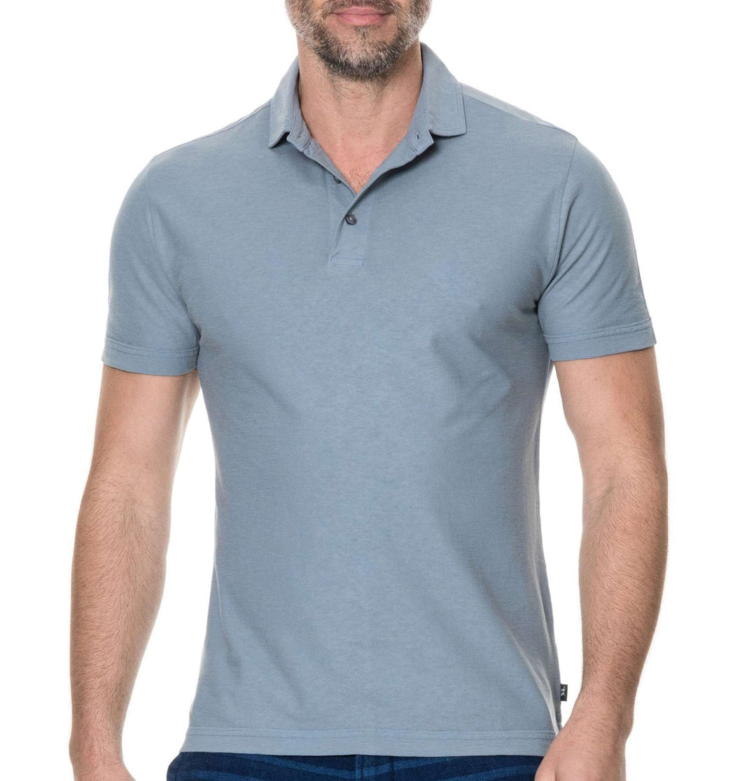 Rodd & Gunn MEN - SHIRTS - POLOS Rodd & Gunn, Wilsons Bay Sports Fit Polo, Bluestone
