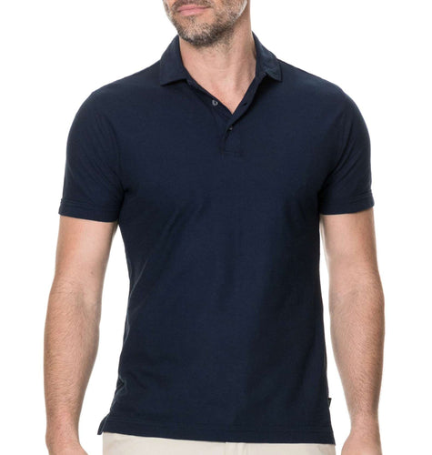 Rodd & Gunn MEN - SHIRTS - POLOS Rodd & Gunn, Wilsons Bay Sports Fit Polo, Midnight