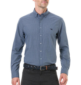 Rodd & Gunn MEN - SHIRTS - BUTTON DOWNS Rodd & Gunn, Wingrove Shirt Original Fit, Midnight