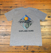 Load image into Gallery viewer, Miller's Provision Co. MEN - SHIRTS - SHORT SLEEVE T-SHIRTS S Miller's Provision Co., Explore More Short Sleeve T-Shirt, Heather Gray