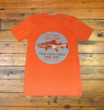 Load image into Gallery viewer, Miller's Provision Co. MEN - SHIRTS - SHORT SLEEVE T-SHIRTS S Miller's Provision Co., Fresh Catfish Short Sleeve T-Shirt, Orange