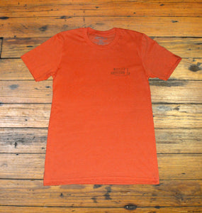 Miller's Provision Co. MEN - SHIRTS - SHORT SLEEVE T-SHIRTS S Miller's Provision Co., Fresh Catfish Short Sleeve T-Shirt, Orange