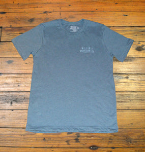 Miller's Provision Co. MEN - SHIRTS - SHORT SLEEVE T-SHIRTS S Miller's Provision Co., Fresh Pork Short Sleeve T-Shirt, Heather Slate