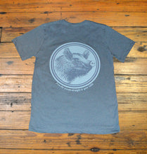 Load image into Gallery viewer, Miller's Provision Co. MEN - SHIRTS - SHORT SLEEVE T-SHIRTS S Miller's Provision Co., Fresh Pork Short Sleeve T-Shirt, Heather Slate