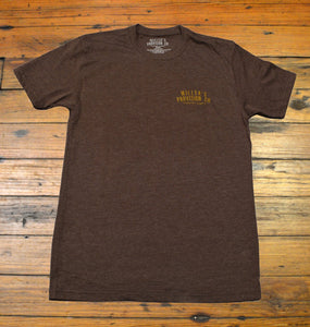 Miller's Provision Co. MEN - SHIRTS - SHORT SLEEVE T-SHIRTS S Miller's Provision Co., Mountain Bison Short Sleeve T-Shirt, Heather Brown