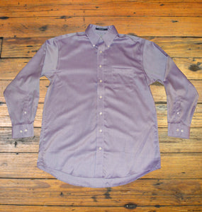 Miller's Provision Co. MEN - SHIRTS - BUTTON DOWNS S Miller's Provision Co., Royal Oxford Sport Shirt, Purple