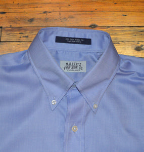 Miller's Provision Co. MEN - SHIRTS - BUTTON DOWNS S Miller's Provision Co., Royal Oxford Sport Shirt, Royal