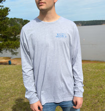 Load image into Gallery viewer, Miller's Provision Co. MEN - SHIRTS - LONG SLEEVE T-SHIRTS S Miller's Provision Co., Texas Armadillo Long Sleeve T-Shirt, Heather Gravel