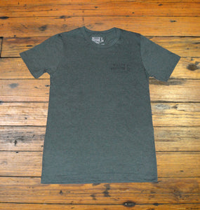 Miller's Provision Co. MEN - SHIRTS - SHORT SLEEVE T-SHIRTS S Miller's Provision Co., The Upland Signature Series Short Sleeve T-Shirt - Number Two, Heather Military Green