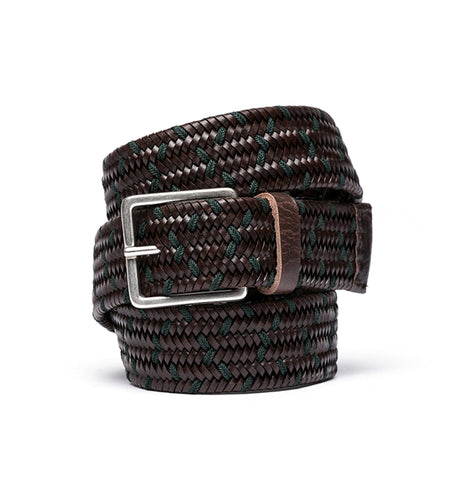 Rodd & Gunn ACCESSORIES - BELTS - LEATHER S Rodd & Gunn, Norwood Road Belt, Chocolate