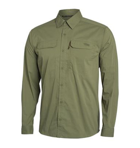 Sitka MEN - SHIRTS - BUTTON DOWNS S Sitka, Globetrotter Shirt Long Sleeve, Forest