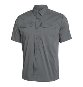 Sitka MEN - SHIRTS - BUTTON DOWNS S Sitka, Globetrotter Shirt Short Sleeve, Shadow