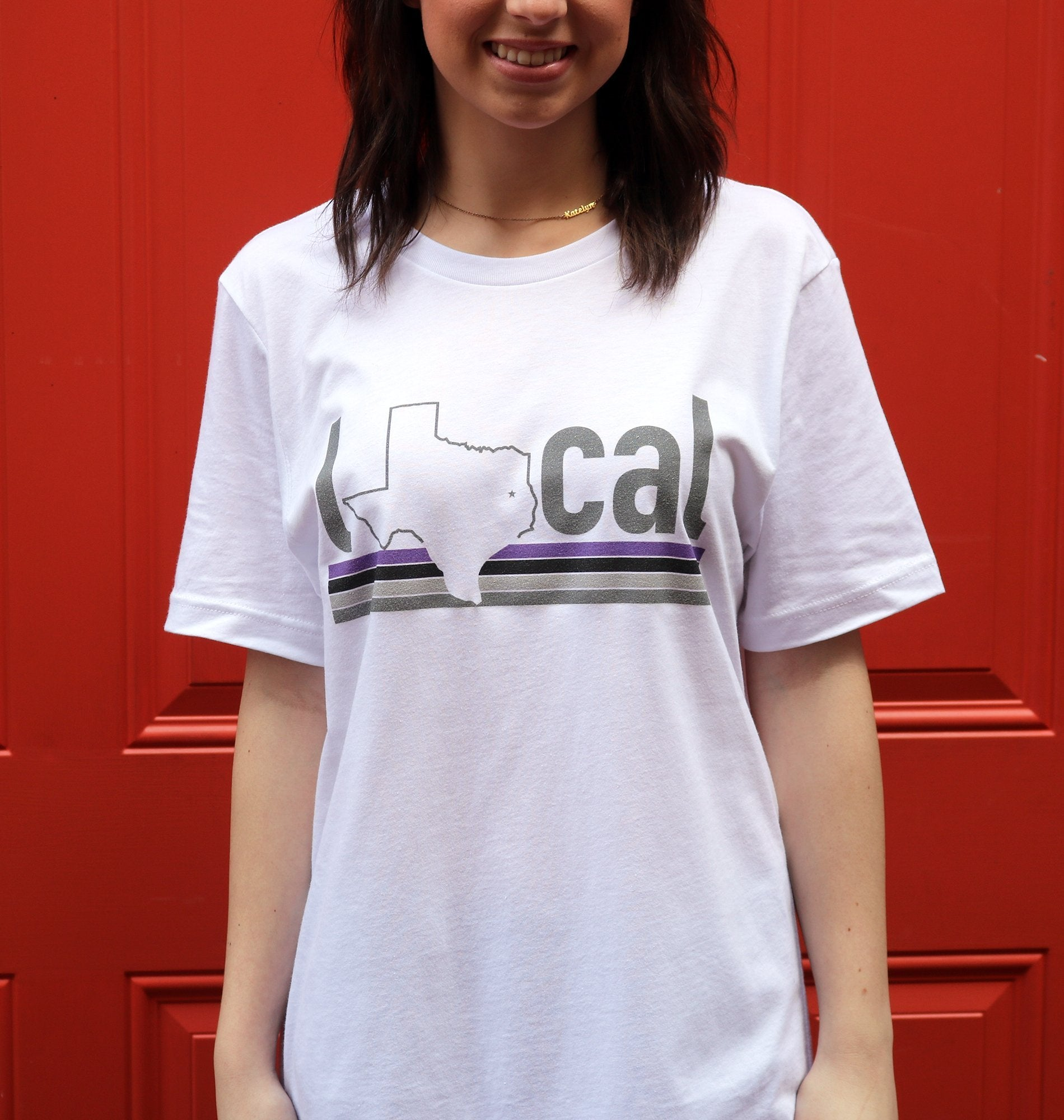 Millers Provision Co Local Short Sleeve T Shirt Purple