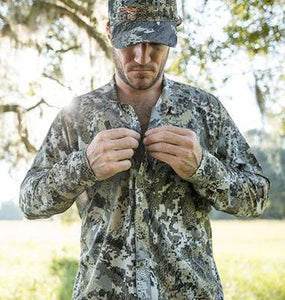 Sitka MEN - SHIRTS - BUTTON DOWNS Sitka, ESW Shirt, Optifade Elevated II