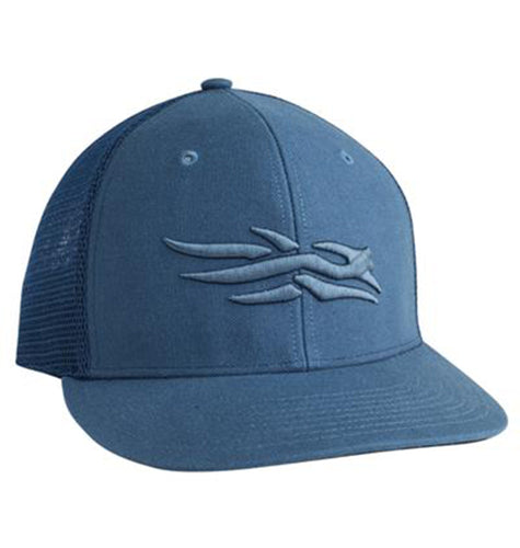 Sitka ACCESSORIES - HATS - TRUCKER Sitka, Flatbill Cap, Navy