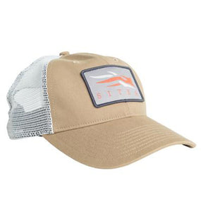 Sitka ACCESSORIES - HATS - TRUCKER Sitka, Meshback Trucker Cap, Clay