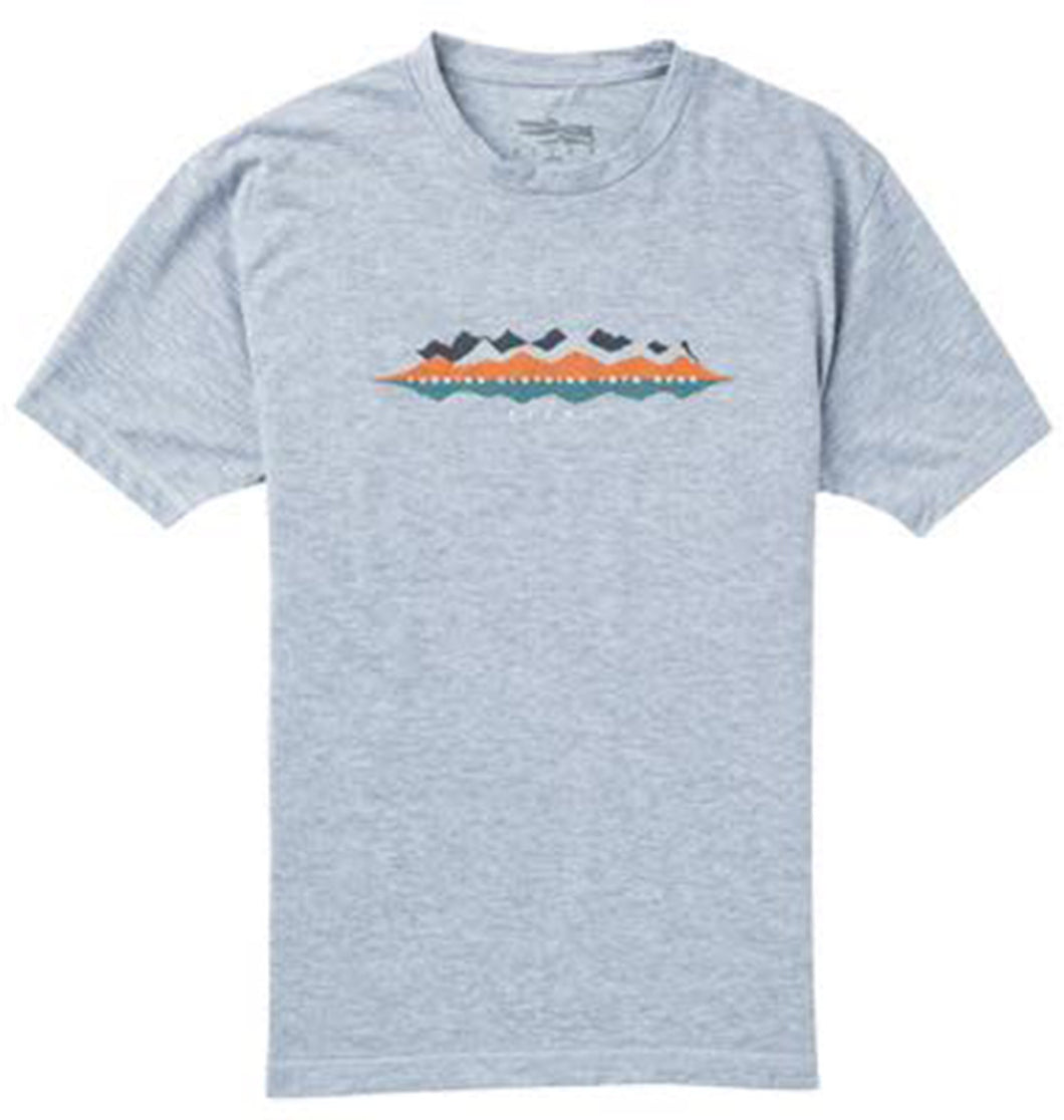 Sitka MEN - SHIRTS - SHORT SLEEVE T-SHIRTS Sitka, Ridgeline Tee Short Sleeve, Heather Grey