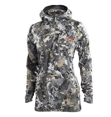 Sitka WOMEN - OUTERWEAR - SWEATERSPULLOVERS Sitka, Women's Fanatic Hoody, Optifade Elevated II