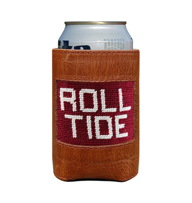 Smathers & Branson ACCESSORIES - KOOZIES - COLLEGIATE Smathers & Branson, Alabama Roll Tide Needlepoint Can Cooler