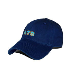Smathers & Branson ACCESSORIES - HATS - GREEK Smathers & Branson, Alpha Tau Omega Needlepoint Hat