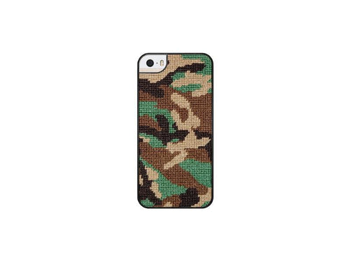 Smathers & Branson ACCESSORIES - PHONE CASES - IPHONE 6 Smathers & Branson, Camo Needlepoint iPhone 6 Case