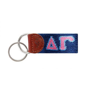 Smathers & Branson ACCESSORIES - KEY FOBS - GREEK Smathers & Branson, Delta Gamma Needlepoint Key Fob