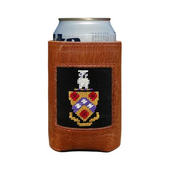 Smathers & Branson ACCESSORIES - KOOZIES - GREEK Smathers & Branson, FIJI Needlepoint Can Cooler
