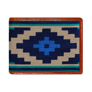Smathers & Branson ACCESSORIES - WALLETS - BIFOLDTRIFOLD Smathers & Branson, Gaucho Needlepoint Bi-Fold Wallet