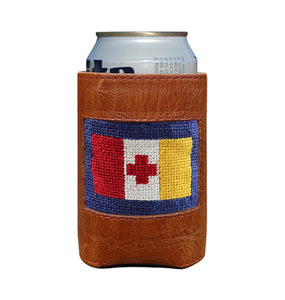Smathers & Branson ACCESSORIES - KOOZIES - GREEK Smathers & Branson, Kappa Alpha Order Needlepoint Can Cooler