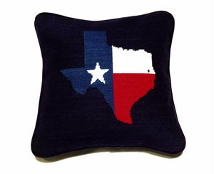 Smathers & Branson HOME - PILLOW Smathers & Branson, Miller's Point Texas Flag Pillow
