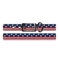 Load image into Gallery viewer, Smathers & Branson FIELDDOG - DOG - DOG COLLAR Smathers & Branson, Old Glory Needlepoint Dog Collar