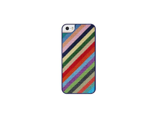 Smathers & Branson ACCESSORIES - PHONE CASES - IPHONE 6 Smathers & Branson, Parsons Stripe Needlepoint Case for iPhone 6