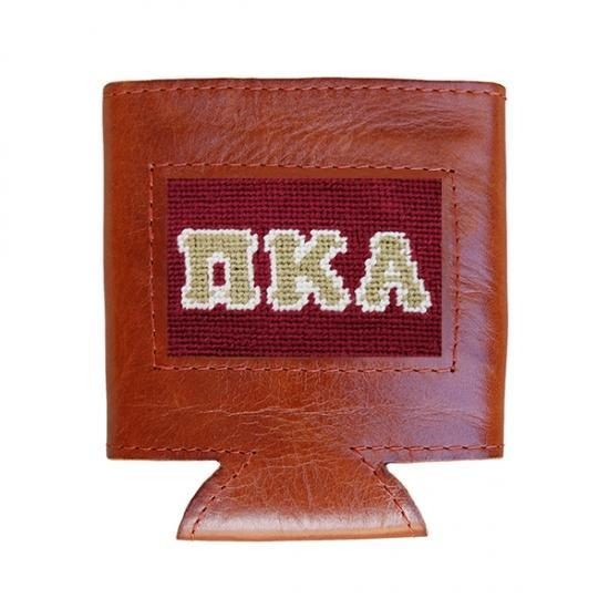 Smathers & Branson ACCESSORIES - KOOZIES - GREEK Smathers & Branson, Pi Kappa Alpha Needlepoint Can Cooler